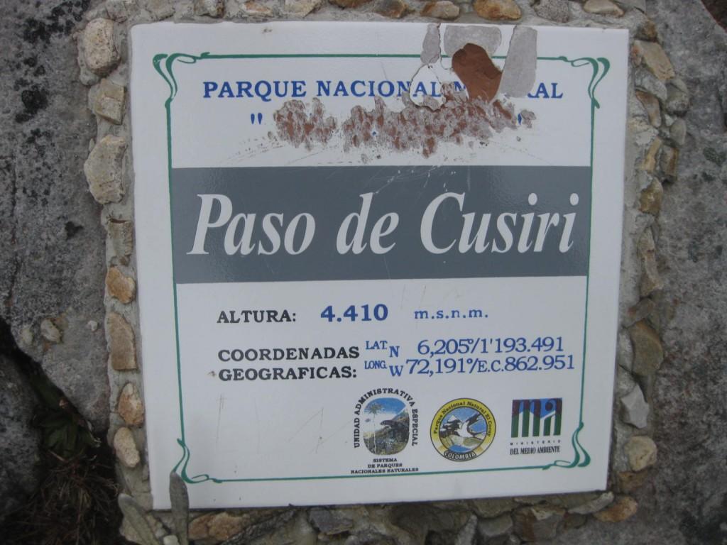 """Auch in Kolumbien kann man hoch in die Anden steigen. Hier im Nationalpark """"El Cocuy"""", auf 4410 Metern über dem Meer"""
