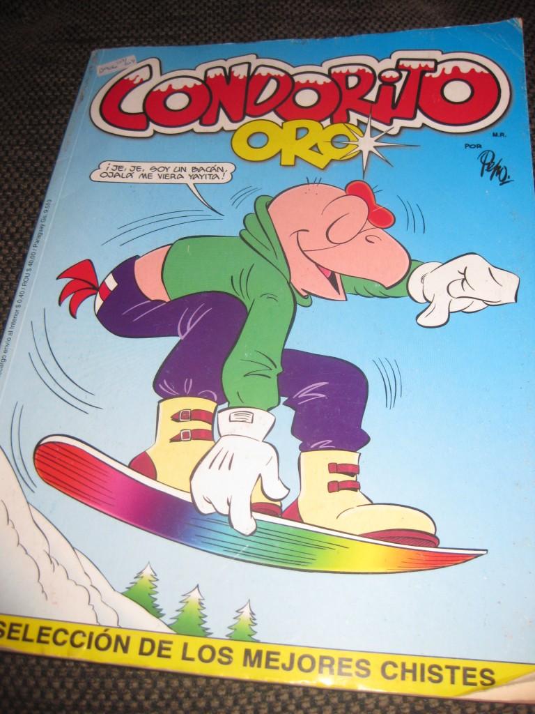 Condorito-Heftchen. Kult-Comic aus Chile, in ganz Südamerika bekannt.