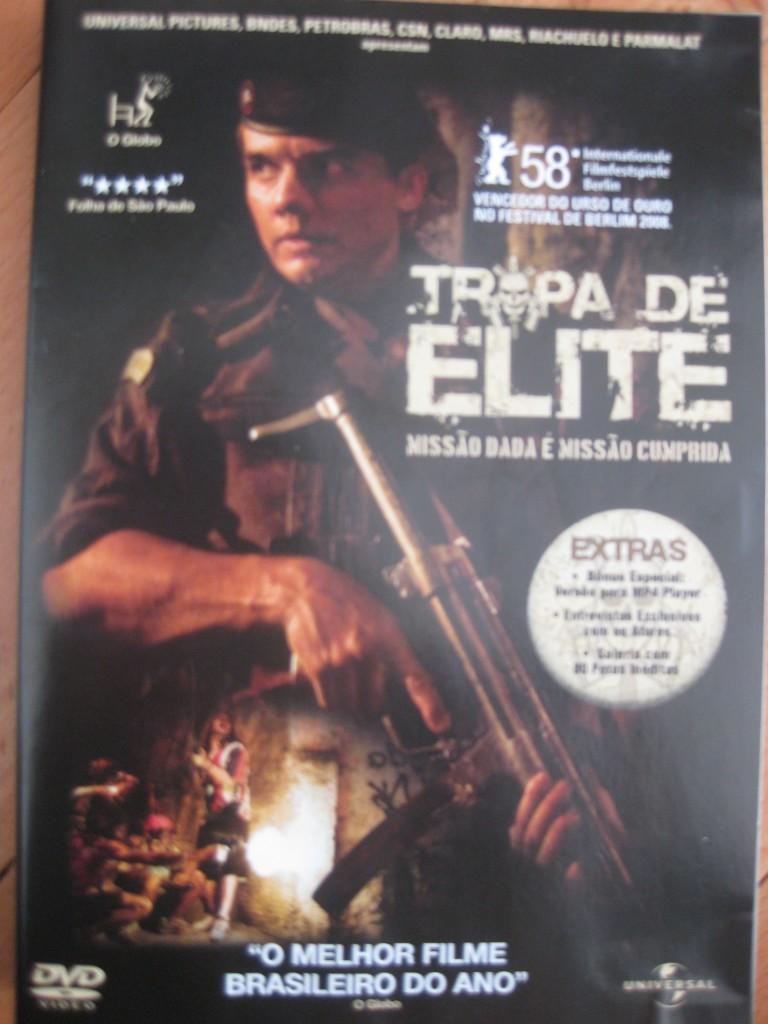 Einer der Film-Klassiker Südamerikas: Tropa de Elite aus Brasilien